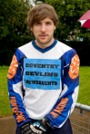 Grimes: Riding for Coventry after his debut for Monarchs